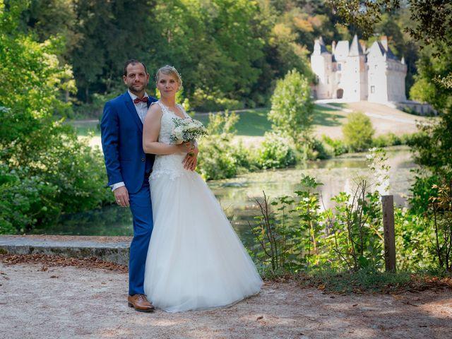 Le mariage de Guillaume et Lucie à Autrèche, Indre-et-Loire 14