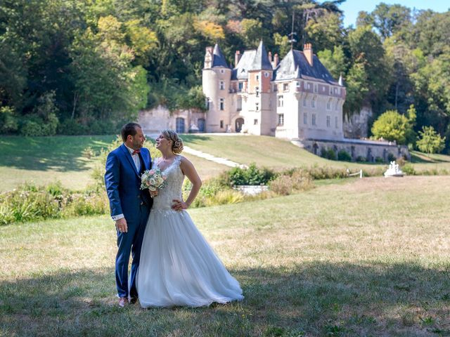 Le mariage de Guillaume et Lucie à Autrèche, Indre-et-Loire 33