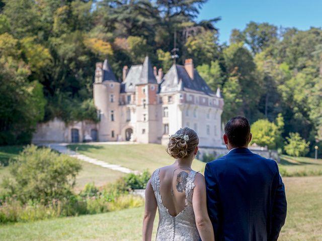 Le mariage de Guillaume et Lucie à Autrèche, Indre-et-Loire 37