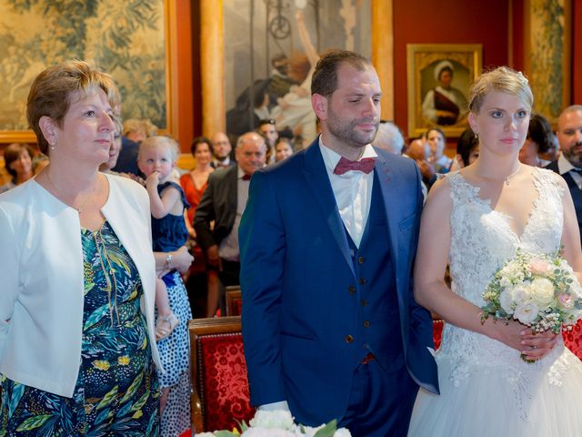 Le mariage de Guillaume et Lucie à Autrèche, Indre-et-Loire 64