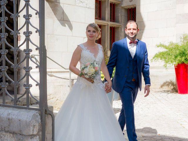 Le mariage de Guillaume et Lucie à Autrèche, Indre-et-Loire 72