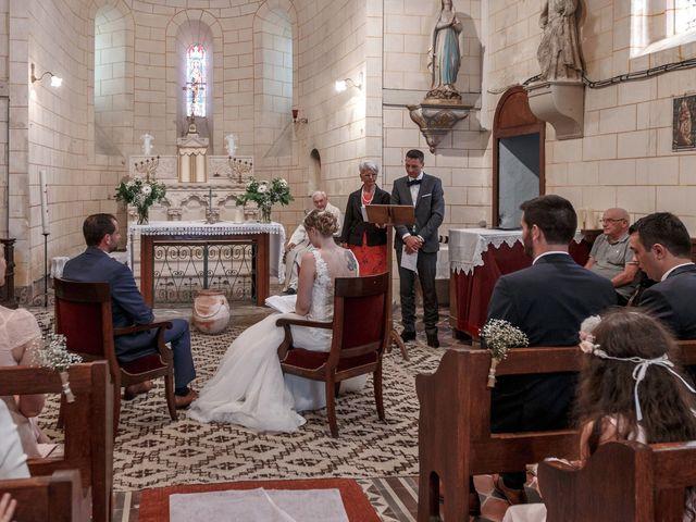Le mariage de Guillaume et Lucie à Autrèche, Indre-et-Loire 94