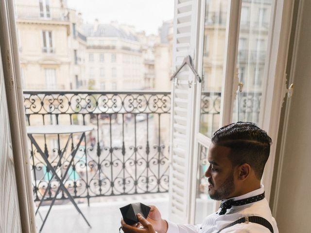 Le mariage de Hezrell et Raquel à Paris, Paris 6