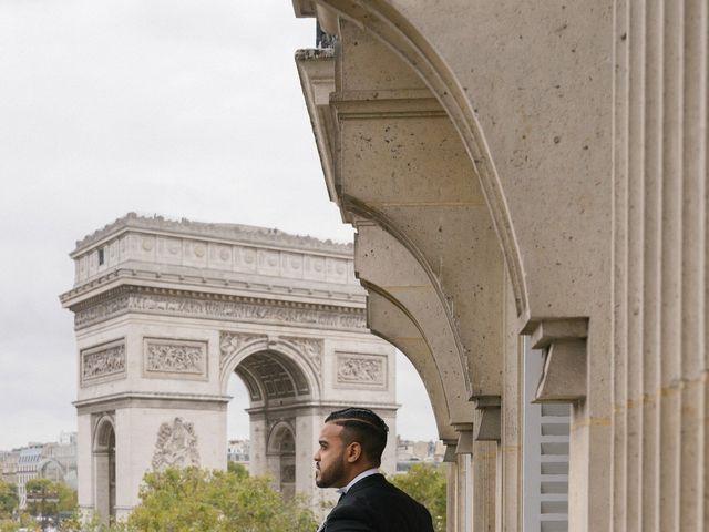 Le mariage de Hezrell et Raquel à Paris, Paris 9