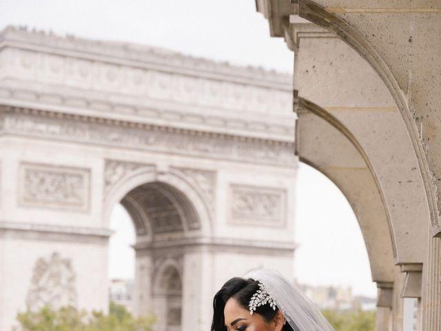 Le mariage de Hezrell et Raquel à Paris, Paris 39