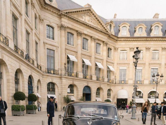 Le mariage de Hezrell et Raquel à Paris, Paris 46