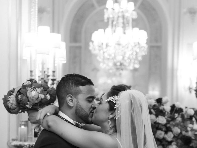 Le mariage de Hezrell et Raquel à Paris, Paris 61