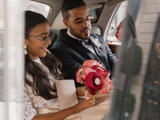 Le mariage de Hezrell et Raquel à Paris, Paris 69