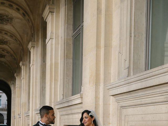 Le mariage de Hezrell et Raquel à Paris, Paris 70