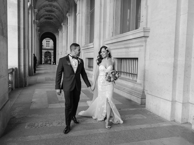 Le mariage de Hezrell et Raquel à Paris, Paris 71