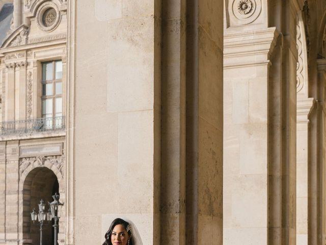 Le mariage de Hezrell et Raquel à Paris, Paris 72