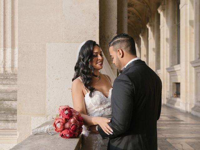 Le mariage de Hezrell et Raquel à Paris, Paris 73