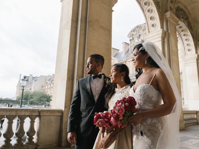 Le mariage de Hezrell et Raquel à Paris, Paris 75