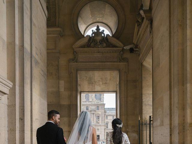 Le mariage de Hezrell et Raquel à Paris, Paris 77