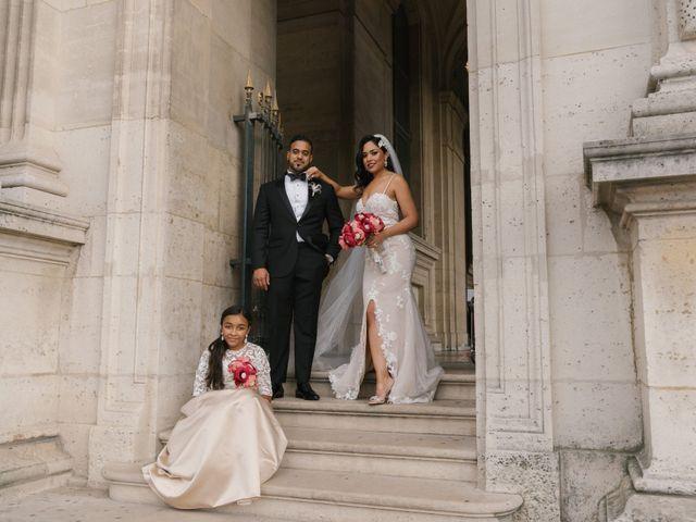 Le mariage de Hezrell et Raquel à Paris, Paris 78
