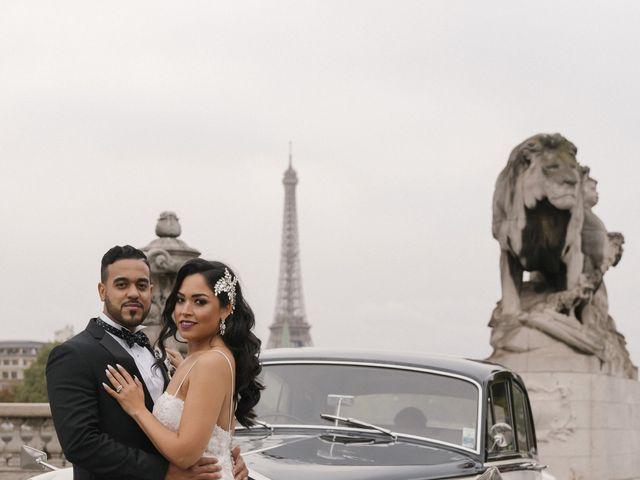 Le mariage de Hezrell et Raquel à Paris, Paris 81