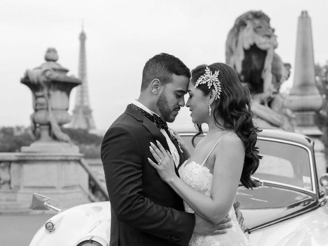 Le mariage de Hezrell et Raquel à Paris, Paris 82
