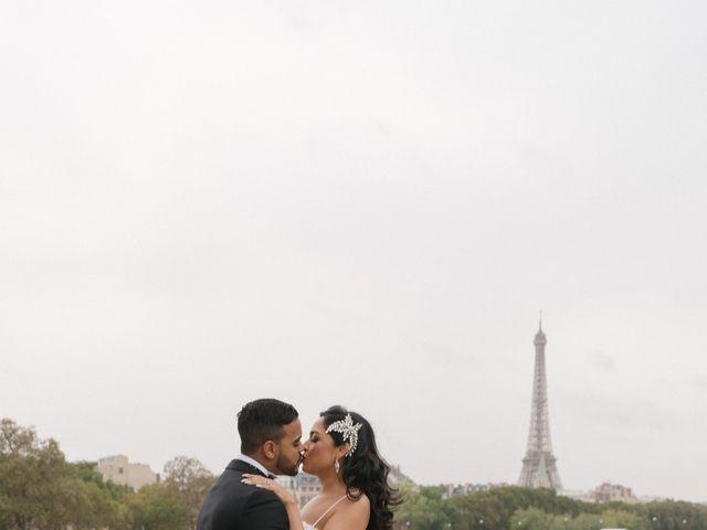 Le mariage de Hezrell et Raquel à Paris, Paris 84