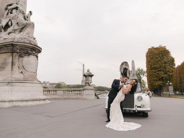 Le mariage de Hezrell et Raquel à Paris, Paris 85
