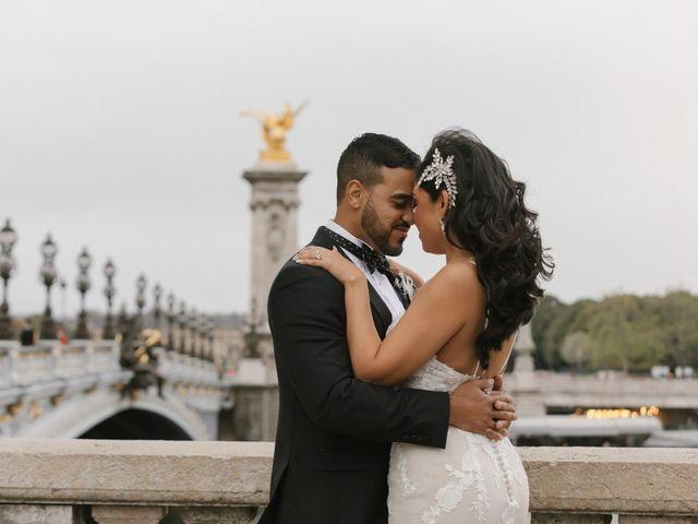 Le mariage de Hezrell et Raquel à Paris, Paris 88