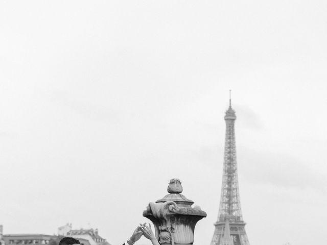 Le mariage de Hezrell et Raquel à Paris, Paris 89