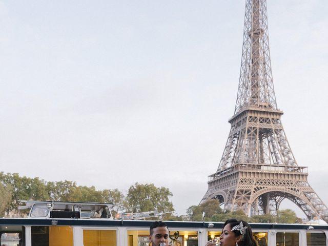 Le mariage de Hezrell et Raquel à Paris, Paris 90