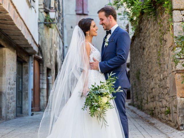Le mariage de Jean-Hugues et Laurie à Saint-Antonin-Noble-Val, Tarn-et-Garonne 19