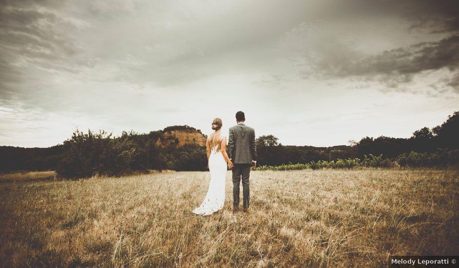 Le mariage de Rick et Marie à Saint-Christol-de-Rodières, Gard