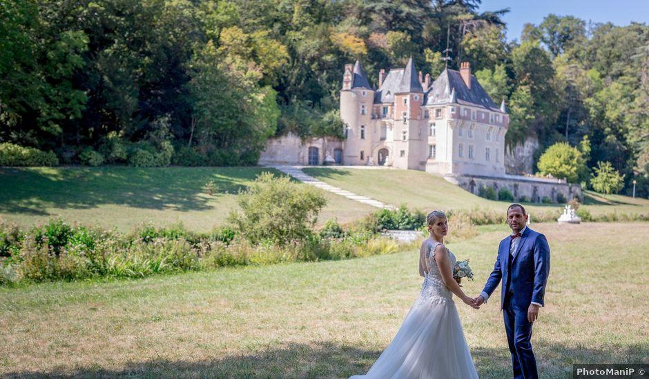 Le mariage de Guillaume et Lucie à Autrèche, Indre-et-Loire