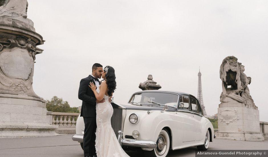 Le mariage de Hezrell et Raquel à Paris, Paris