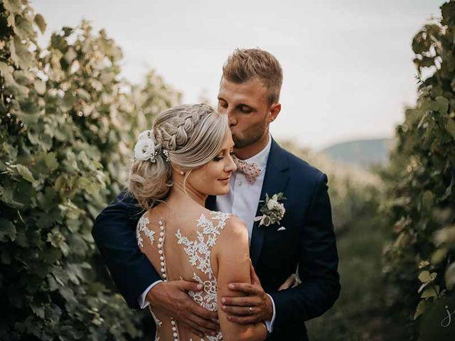 Le mariage de Yohann et Laetitia à Westhalten, Haut Rhin 2