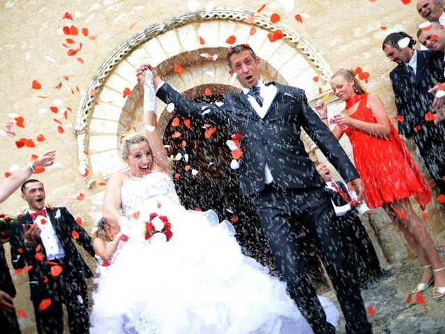 Le mariage de Aurélie et David à Champagné-le-Sec, Vienne 18
