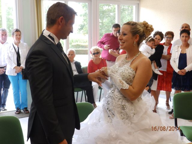 Le mariage de Aurélie et David à Champagné-le-Sec, Vienne 24