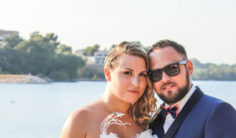 33b0f9b8b032 Le mariage de Fabien et Amandine à Istres