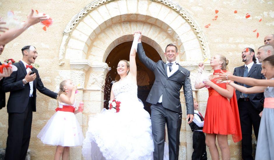 Le mariage de Aurélie et David à Champagné-le-Sec, Vienne
