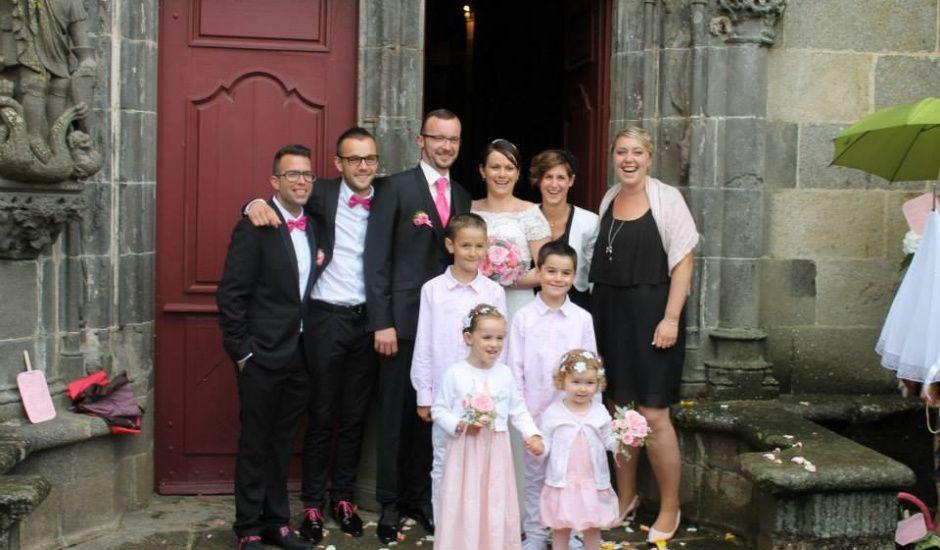 Le mariage de Gaelle et Christophe à Le Folgoët, Finistère