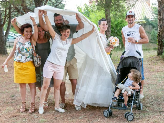 Le mariage de Fanny et Laura à Corbère-les-Cabanes, Pyrénées-Orientales 28