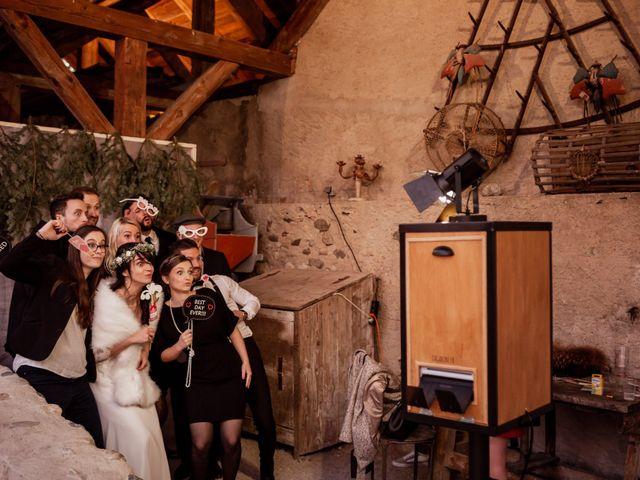 Le mariage de Antoine et Cloé à Ruffieux, Savoie 86