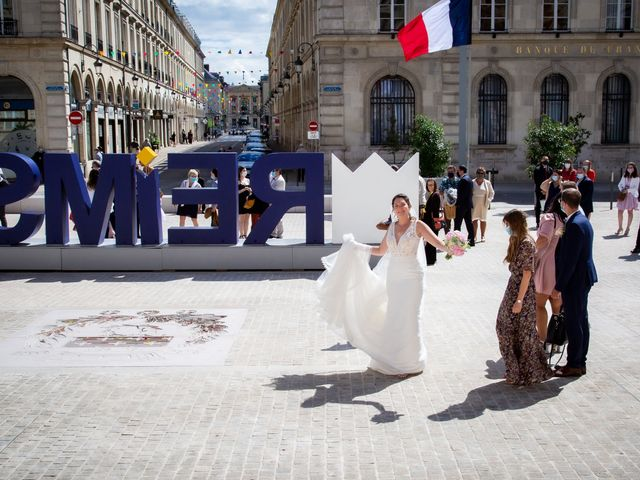 Le mariage de Mathieu et Cloé à Reims, Marne 40