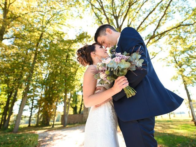 Le mariage de Florian et Sandra à Trouhans, Côte d'Or 33