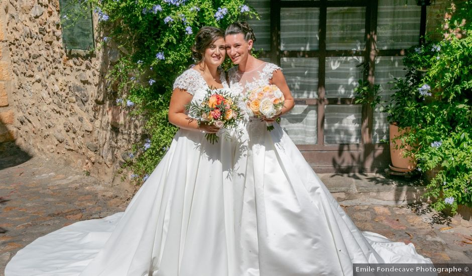Le mariage de Fanny et Laura à Corbère-les-Cabanes, Pyrénées-Orientales