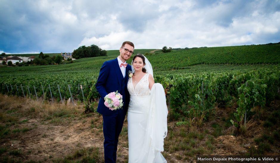 Le mariage de Mathieu et Cloé à Reims, Marne