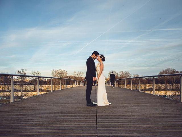 Le mariage de David et Cécilia à Issy-les-Moulineaux, Hauts-de-Seine 11