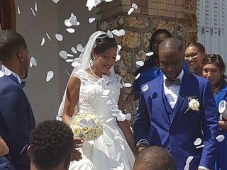 Le mariage de Fazimah et Mickael 1
