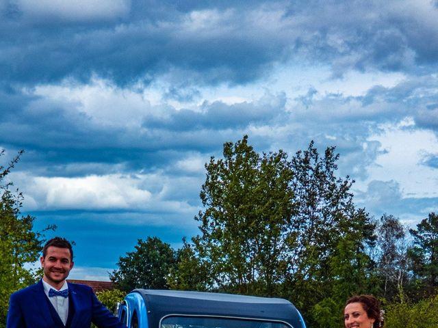 Le mariage de Romain et Estelle à Dhuizon, Loir-et-Cher 5