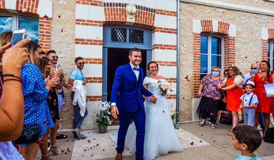 Le mariage de Romain et Estelle à Dhuizon, Loir-et-Cher
