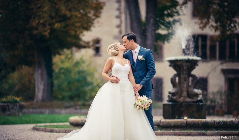 Le mariage de Nicolas et Julie à Saint-Pierre-Bois, Bas Rhin