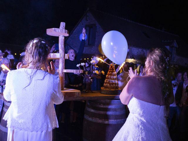 Le mariage de Marion et Anne Sophie à Le Gué-de-Longroi, Eure-et-Loir 45