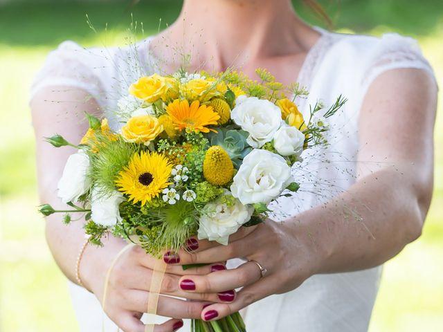 Le mariage de Florent et Elise à Saint-Offenge-Dessous, Savoie 9