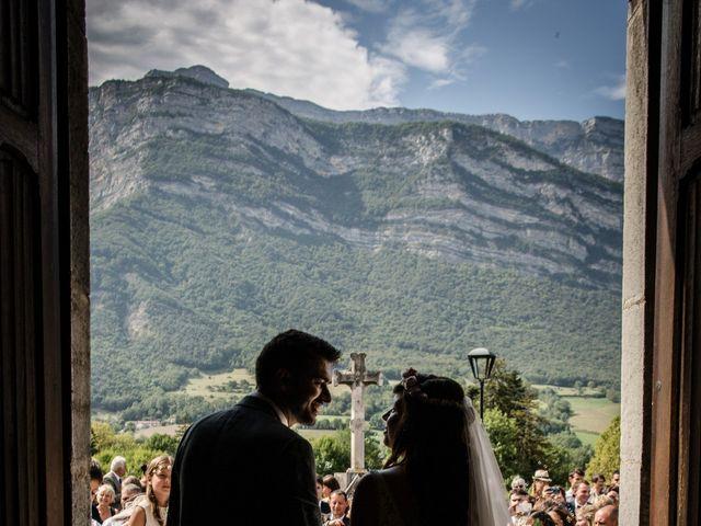 Le mariage de Romain et Pauline à Varces-Allières-et-Risset, Isère 20